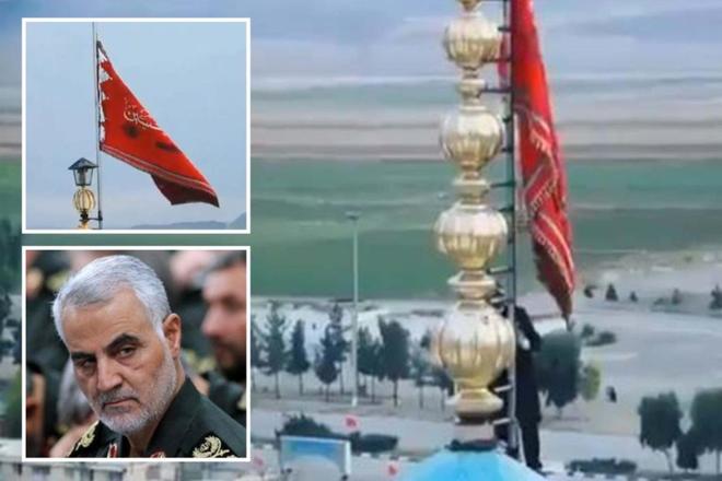 """Iran lần đầu dùng đến """"lá cờ máu"""" từ khi lập quốc: Đòn trả thù tàn khốc nào đang đợi Mỹ? - Ảnh 1."""