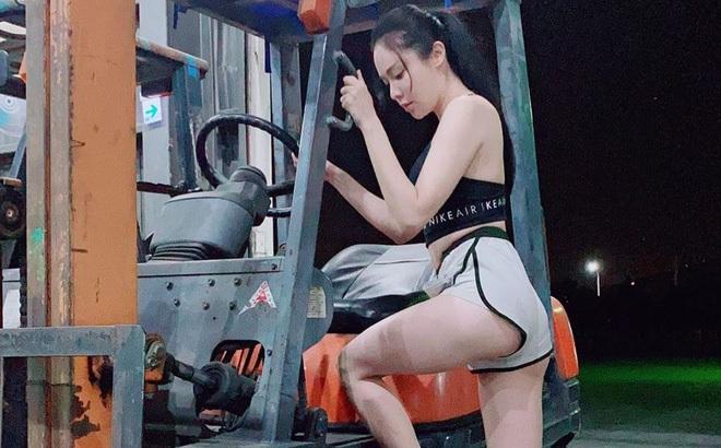 Gái xinh làm nghề bốc vác, tài xế xe tải sở hữu body sexy: Làm màu hay không chưa biết nhưng nhìn là thấy nể rồi đó!