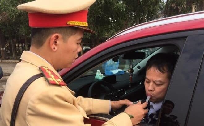 Đã có 1.518 lái xe bị xử phạt do vi phạm nồng độ cồn