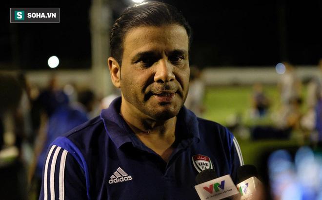 Trưởng đoàn U23 UAE:
