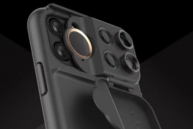 Với chiếc ốp lưng thú vị này, người dùng iPhone 11 muốn bao nhiêu ống kính cũng được - Ảnh 2.