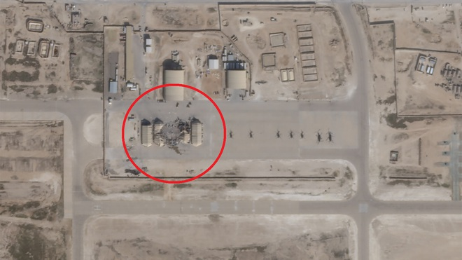 Tên lửa Iran thổi bay trực thăng 40 triệu USD của Mỹ trong vụ tấn công trả đũa ở Iraq - Ảnh 1.