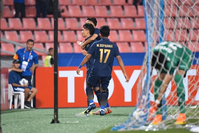 Nhấn chìm Bahrain trong mưa bàn thắng, U23 Thái Lan khởi đầu mĩ mãn tại giải U23 châu Á - Ảnh 3.