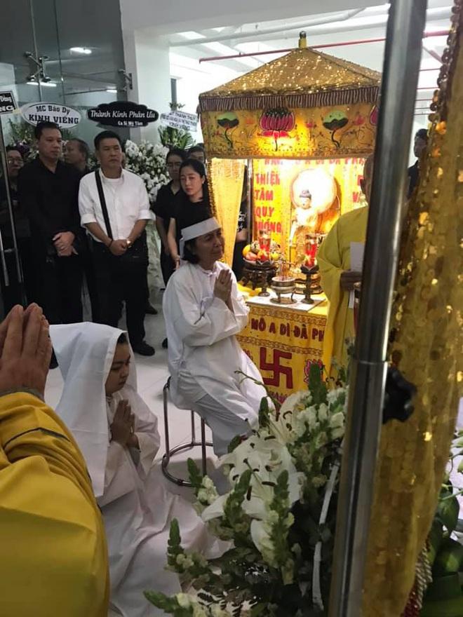 Vợ nghệ sĩ Nguyễn Chánh Tín liên tục ngã quỵ khi đưa tiễn chồng về nơi vĩnh hằng - Ảnh 8.