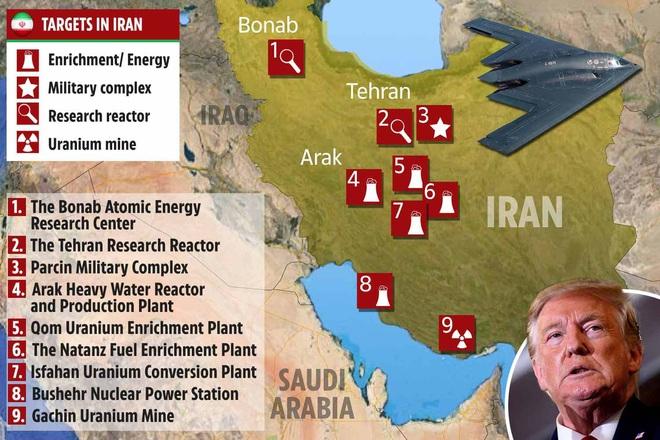 Lằn ranh đỏ bùng nổ: Iran đã đột phá giới hạn của ông Trump và bị đáp trả xứng đáng? - Ảnh 1.