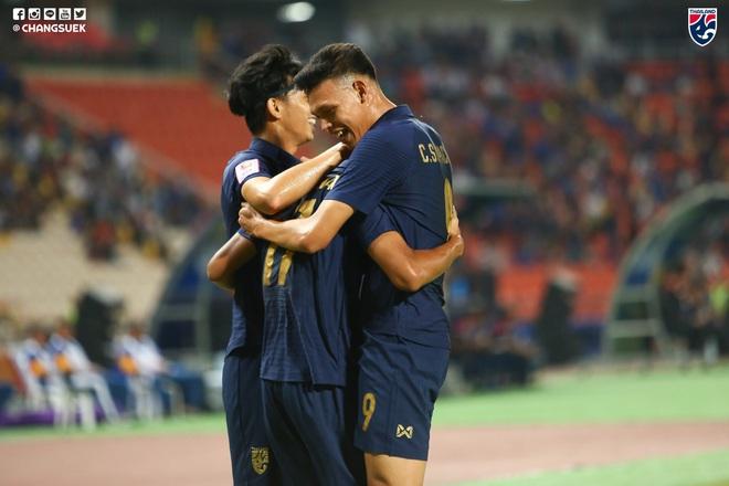 Nhấn chìm Bahrain trong mưa bàn thắng, U23 Thái Lan khởi đầu mĩ mãn tại giải U23 châu Á - Ảnh 4.