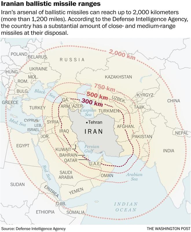 Tướng Mỹ kinh ngạc về trình độ tên lửa của Iran: Bẻ gãy các hệ thống phòng thủ tối tân! - Ảnh 2.