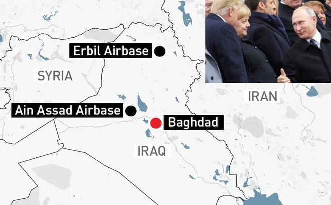 Mỹ hạ sát tướng Iran, Iran bắn tên lửa vào Mỹ - Ngăn đại chiến Trung Đông chỉ có một người, TT Nga Putin?