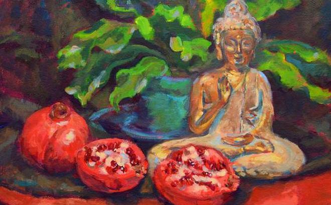 Đem quả lựu ăn dở cho Đức Phật, người phụ nữ bị chỉ trích song phản ứng của Ngài mới đáng kinh ngạc