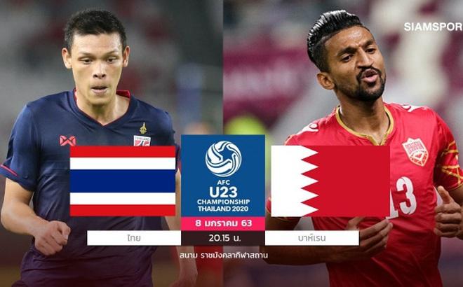 Lịch thi đấu U23 châu Á 2020 ngày 8/1: U23 Thái Lan gặp đối thủ khó nhằn