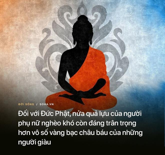 Đem quả lựu ăn dở cho Đức Phật, người phụ nữ bị chỉ trích song phản ứng của Ngài mới đáng kinh ngạc - Ảnh 3.