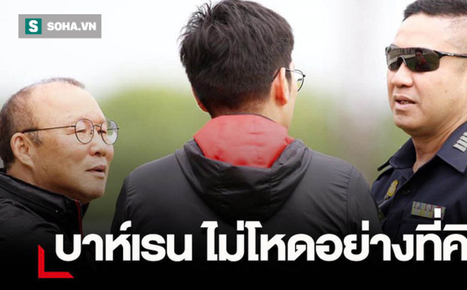 """HLV Park Hang-seo hé lộ """"tin mật"""" nhằm trợ giúp Thái Lan ngay trước giờ G"""