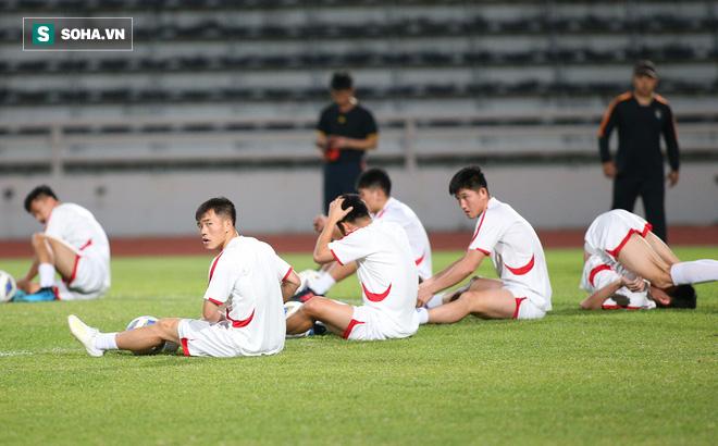 U23 Triều Tiên luyện tập nghiêm khắc, cầu thủ mắc lỗi lập tức phải chịu phạt