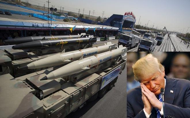 """""""Miếng ngon nhớ lâu, đòn đau nhớ đời"""": Mỹ đã ngấm """"đòn cảnh cáo"""" bằng tên lửa của Iran?"""