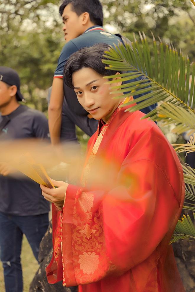 Adam Lâm mời Mai Ngô, Hải Triều tham gia web drama cổ trang xuyên không - Ảnh 1.