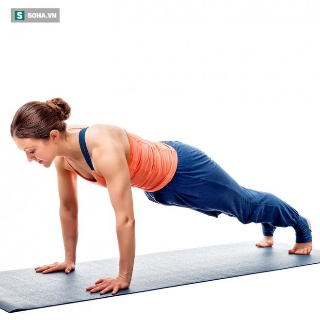 Bật mí 15 động tác thể dục giúp giảm mỡ bụng cấp tốc, săn chắc vòng 2, toàn thân gợi cảm - Ảnh 9.