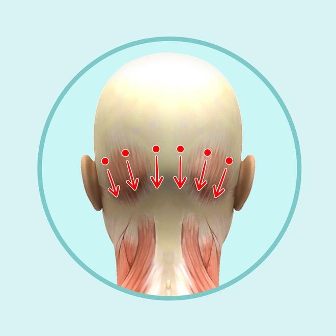 Bài mát xa đầu giúp trẻ hóa toàn bộ khuôn mặt, lưu thông khí huyết và ngăn ngừa bệnh tật - Ảnh 6.