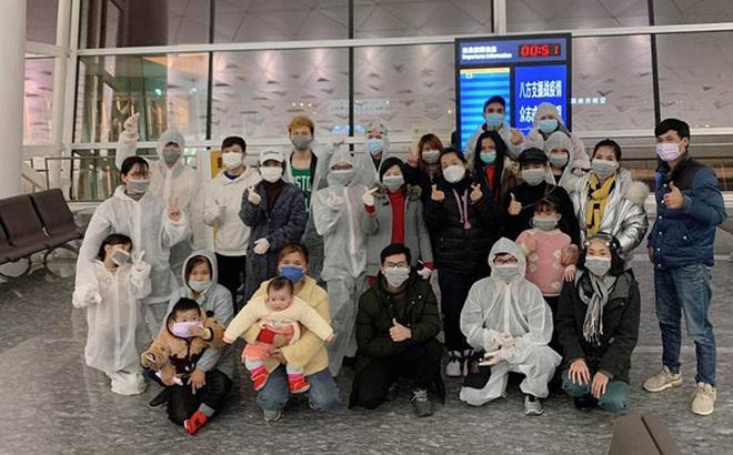 Chuyến bay đưa 30 công dân Việt Nam từ tâm dịch virus Corona Vũ Hán về nước