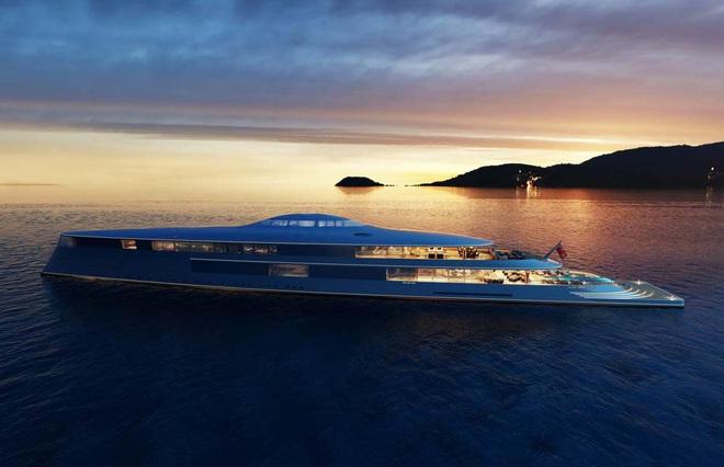 Bill Gates đặt mua siêu du thuyền chạy bằng hydro trị giá 644 triệu USD - Ảnh 1.