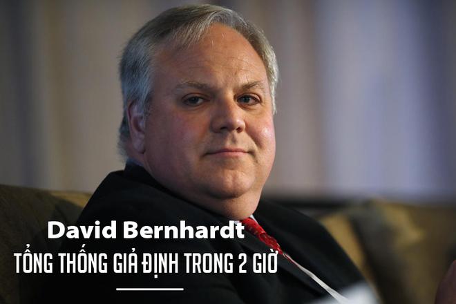 David Bernhardt - Tổng thống giả định trong 2 giờ của nước Mỹ - Ảnh 2.