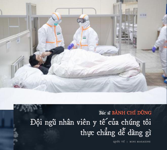 Chia sẻ của bác sĩ TQ về sự sống và cái chết ở Vũ Hán: Tôi đã khóc, có bệnh nhân quỳ xuống cầu xin tôi cho nằm viện - Ảnh 16.