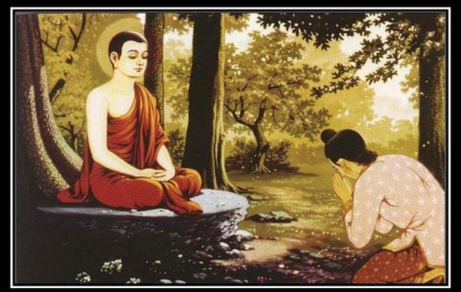 Muốn bố được lên cõi Trời, con trai đến tìm Đức Phật rồi được Ngài bảo ra chợ mua 2 thứ - Ảnh 1.