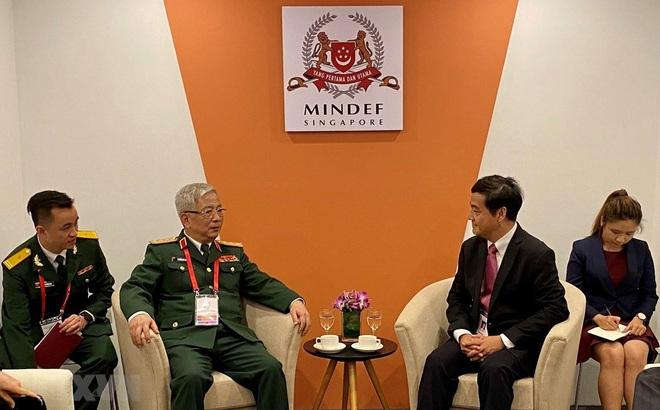 Việt Nam-Singapore tham vấn hoạt động quân sự-quốc phòng ASEAN