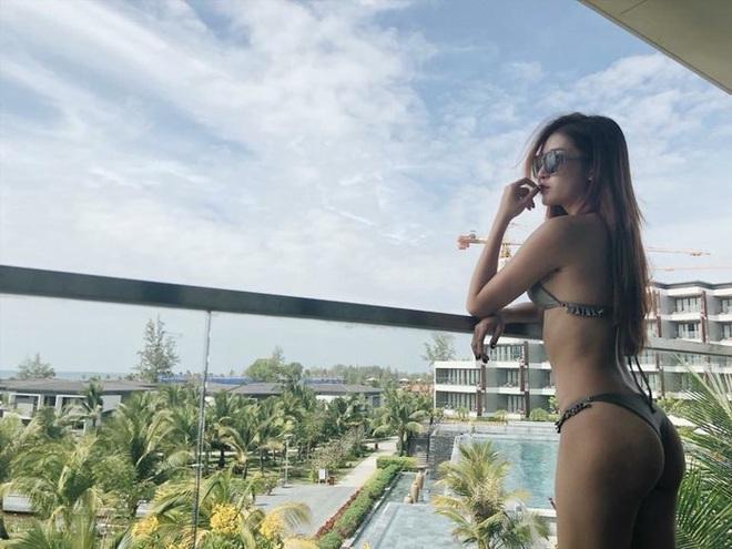 Loạt ảnh Á hậu Huyền My mặc bikini đầy nóng bỏng - Ảnh 8.