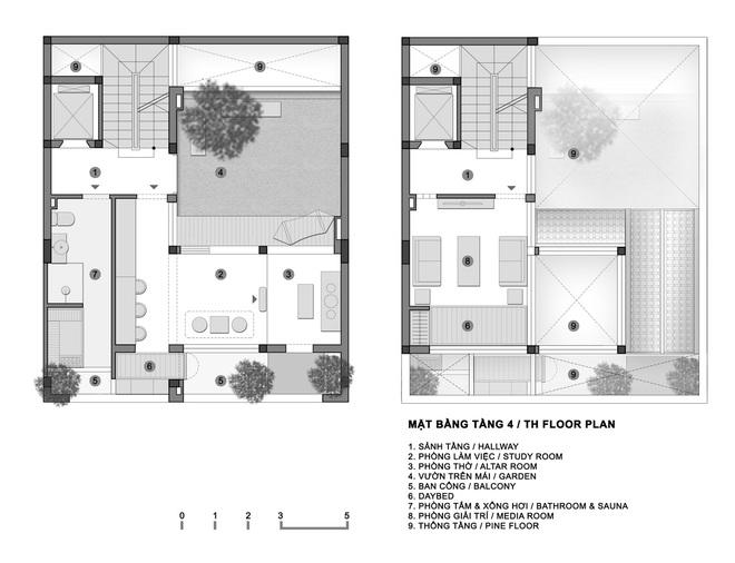 Ngôi nhà với nhiều mái vòm và cửa sổ ở Nam Định - Ảnh 12.