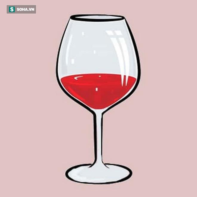 Ly rượu vang nói lên tính cách:  Nếu chọn ly số 1, bạn là người tự tin - Ảnh 1.