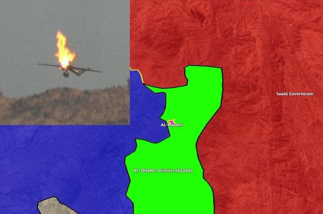 NÓNG: Giáng đòn hiểm, bắn rơi máy bay trinh sát vào Liên minh Saudi, Houthi ào ạt tiến chiếm Marib - Ảnh 3.