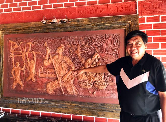 Choáng: Ngôi nhà tiền tỷ làm từ đất sét nung độc nhất ở miền Tây - Ảnh 14.