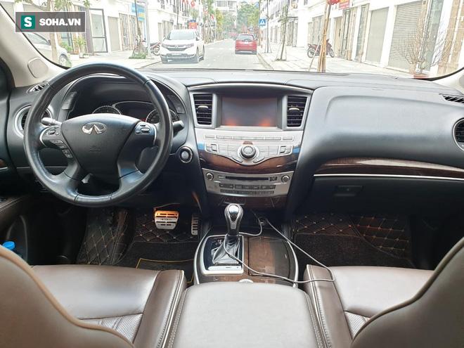 Mới chạy 50.000km, xe Infiniti QX60 2017 được rao bán giá lỗ 1 tỷ so với xe cùng đời - Ảnh 6.