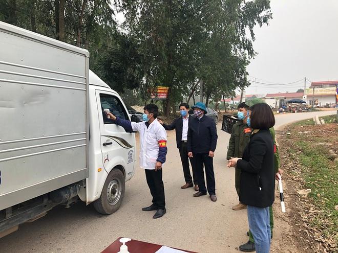 Các điều cấm khi ra vào xã Sơn Lôi hơn 10.000 dân đang phải cách ly ở Vĩnh Phúc - Ảnh 3.