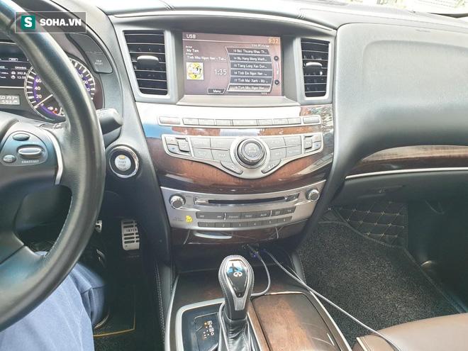 Mới chạy 50.000km, xe Infiniti QX60 2017 được rao bán giá lỗ 1 tỷ so với xe cùng đời - Ảnh 4.
