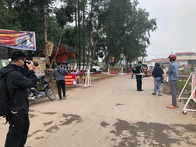 Các điều cấm khi ra vào xã Sơn Lôi hơn 10.000 dân đang phải cách ly ở Vĩnh Phúc - Ảnh 1.