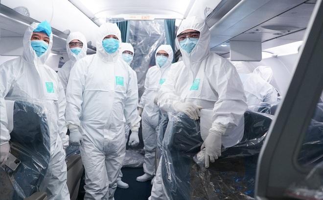 Sức khỏe của tổ bay Vietnam Airlines thực hiện chuyến bay đặc biệt đưa công dân Việt từ Vũ Hán trở về