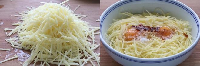 Bánh khoai tây nóng hổi mềm ngon bất ngờ, trời lạnh ăn ngon tuyệt! - Ảnh 1.