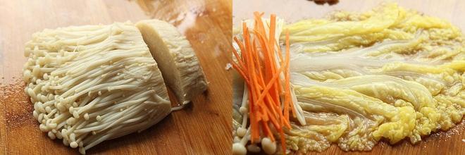 Bữa tối lành mạnh không dầu mỡ với món ngon mới toanh từ rau cải thảo - Ảnh 2.