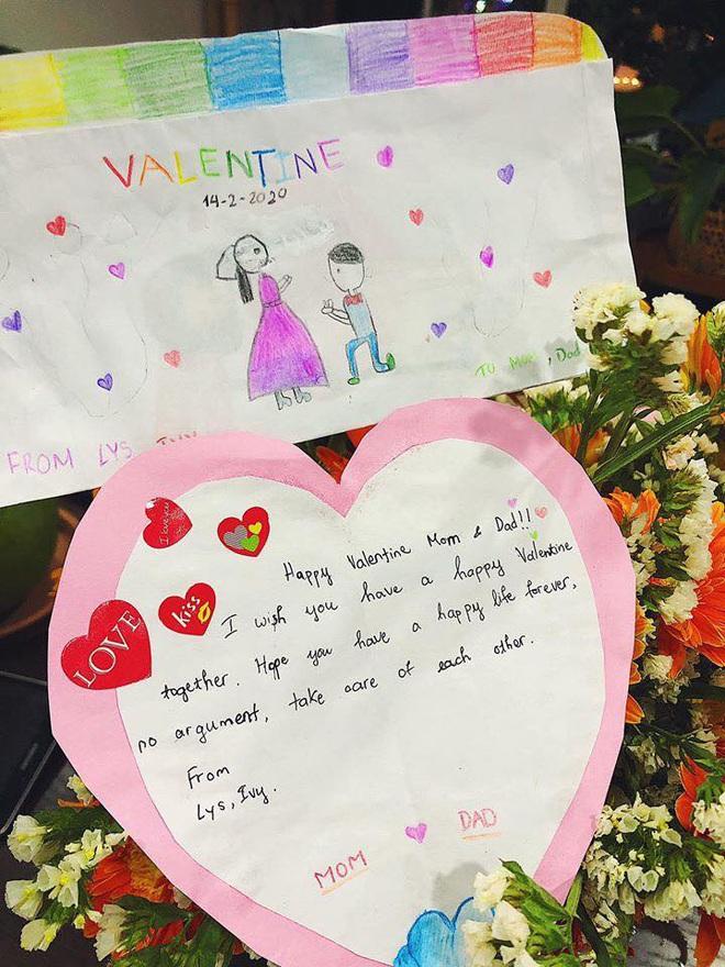 Tiệc Valentine siêu bất ngờ của cặp vợ chồng, nội dung trên tờ giấy đính kèm càng đáng chú ý hơn - Ảnh 3.