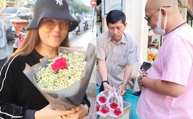 """""""Trùm Điền Quân"""" Color Man dậy sớm tặng quà cho vợ ngày Valentine, khán giả suýt xoa khen ngợi vì điều này"""