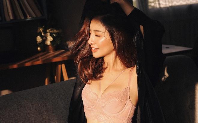 """Ammy Minh Khuê tung ảnh sexy, tiết lộ mất hai ngày chỉ để thu âm 3 từ """"Em yêu anh"""" trong ca khúc vừa ra mắt"""