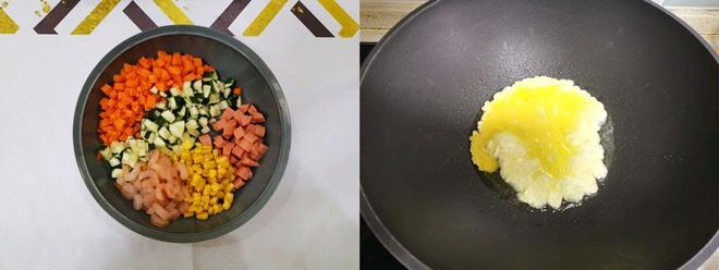Công thức làm món cơm chiên siêu ngon cho bữa tối! - Ảnh 1.