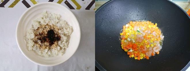 Công thức làm món cơm chiên siêu ngon cho bữa tối! - Ảnh 2.