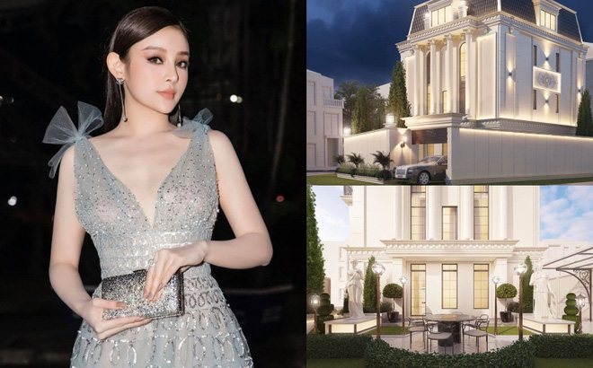 Sau khi sở hữu căn nhà 5 triệu đô, Huyền Baby khoe biệt thự mới hoành tráng như cung điện