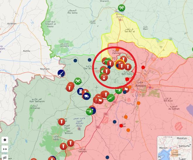 Chiến đấu cơ Su-34 Nga dồn dập oanh kích sát biên giới Thổ - Phiến quân Syria chết như ngả rạ - Ảnh 1.
