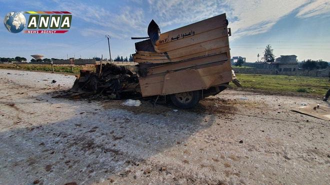 Chiến đấu cơ Su-34 Nga dồn dập oanh kích sát biên giới Thổ - Phiến quân Syria chết như ngả rạ - Ảnh 3.