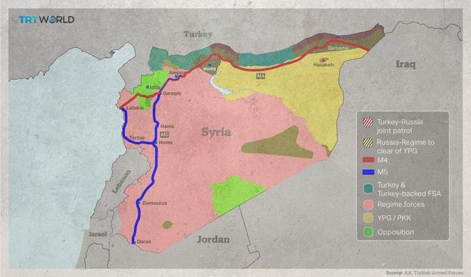 Lý do chiếm được huyết mạch chiến lược M5, Nga-Syria đã có chiến thắng quý hơn vàng ở Idlib - Ảnh 2.