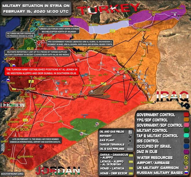 Su-34 Nga lập kỳ tích chặn đứng quân Thổ - QĐ Syria bất ngờ mở hướng tiến công mới, phiến quân trở tay không kịp - Ảnh 1.