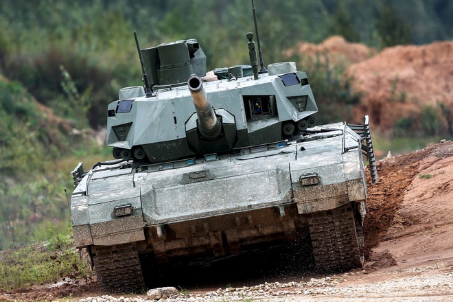 Quân đội Nga đốt cháy giai đoạn phát triển siêu xe tăng T-14 Armata: Đây là hậu quả? - Ảnh 4.